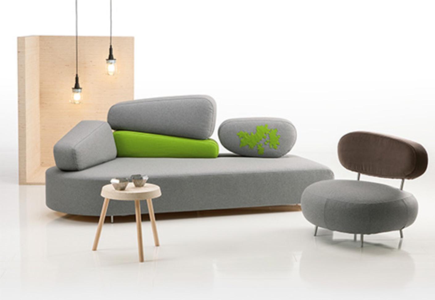 Mosspink sofa von br hl stylepark for Kleine couch