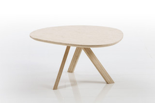 Mosspink table  by  Brühl