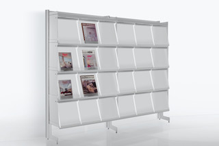 Big magazine rack  by  Caimi Brevetti
