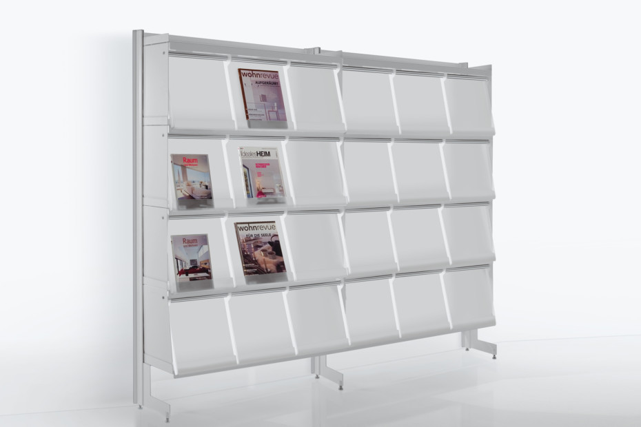 Big magazine rack