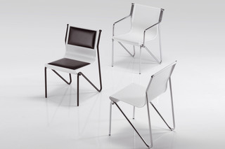 Pitagora chair  by  Caimi Brevetti