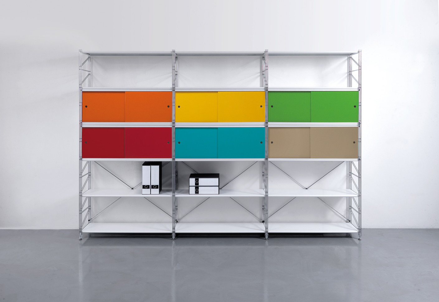 Office contract furniture storage shelving shelf systems - Socrate By Caimi Brevetti Stylepark