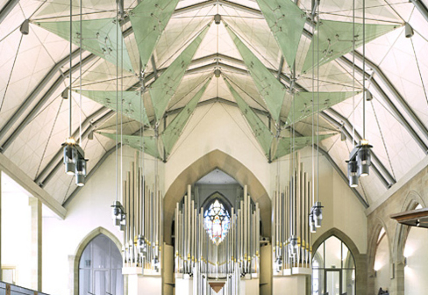 I Sys Collegiate Church Of Stuttgart Germany By Carl