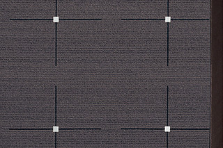 Lyn 13 Lava, Leder 244  by  Carpet Concept