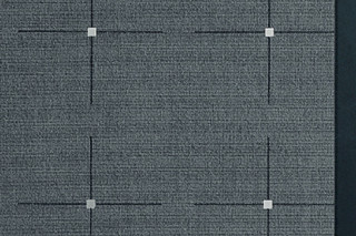 Lyn 13 Steel, Leder 132  by  Carpet Concept