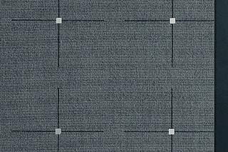 Lyn 13 Steel, Leder 132  by  Carpet Concept