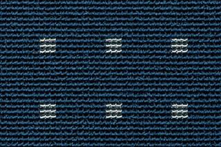Net Rips 1 - Aqua  by  Carpet Concept