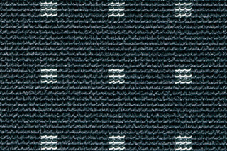 Net Rips 1 - Nero  by  Carpet Concept