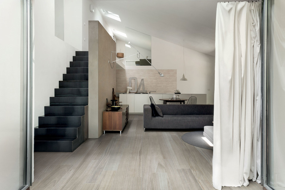 Wooden Tile grey