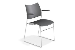 Curvy with armrests  by  Casala