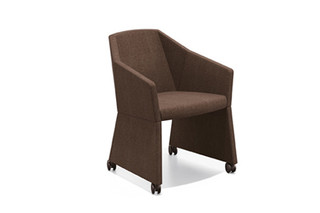 Parker I curling chair  by  Casala