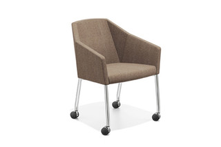 Parker III curling chair  by  Casala