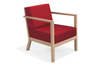 Woody Komfort Armchair  by  Casala