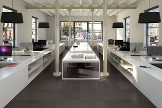 Architecture dark grey  by  Casalgrande Padana