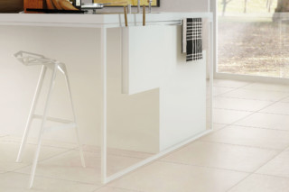 Architecture white gloss  by  Casalgrande Padana