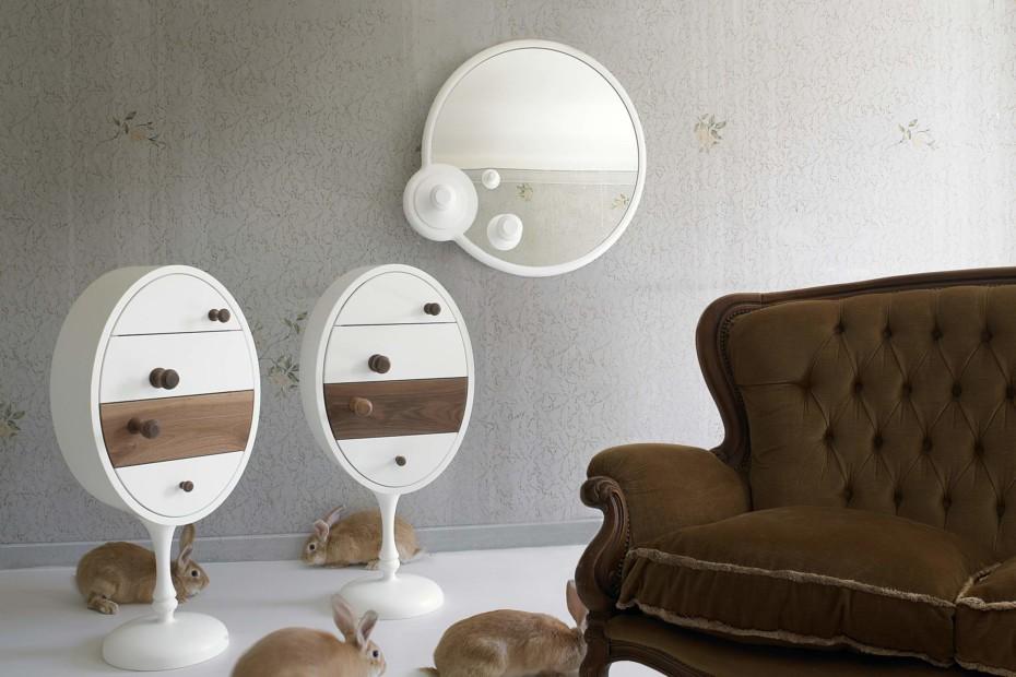 Marie Antoinette Pop Mirror