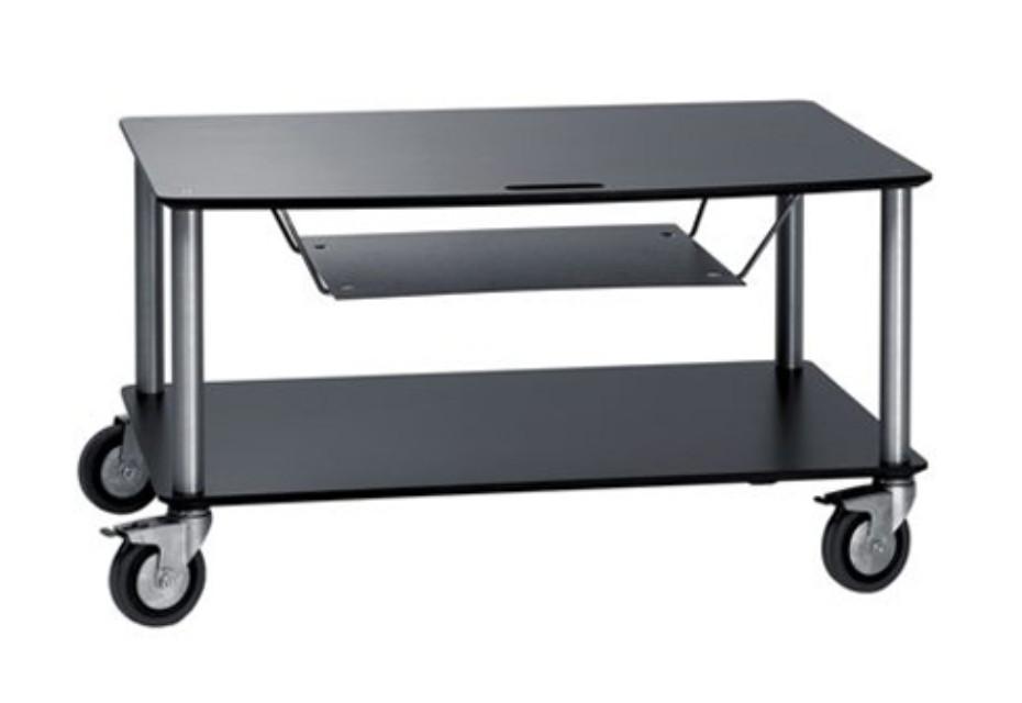 Base TV-Trolley with 2 shelfs + DVD tray