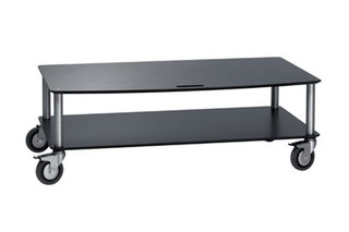 Base TV-Trolley with 2 shelfs  by  Cascando