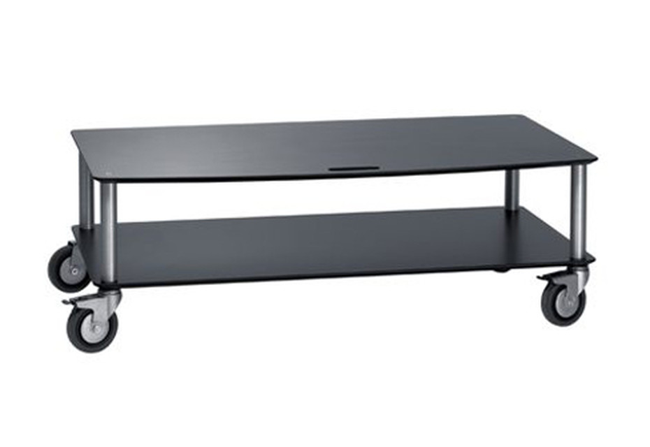 Base TV-Trolley with 2 shelfs