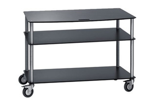 Base TV-Trolley with 3 shelfs  by  Cascando