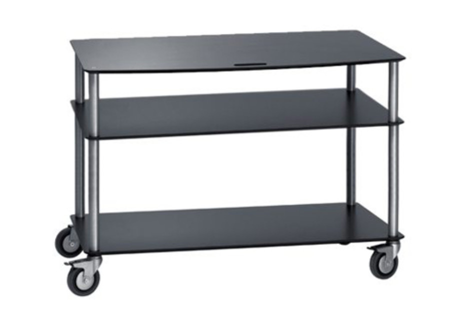 Base TV-Trolley with 3 shelfs