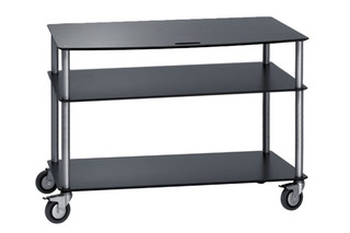 BigBase TV-Troley with 3 shelfs  by  Cascando