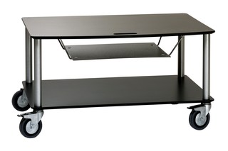 BigBase TV-Trolley with 2 shelfs + DVD tray  by  Cascando