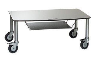 BigBase TV-Trolley with DVD tray  by  Cascando