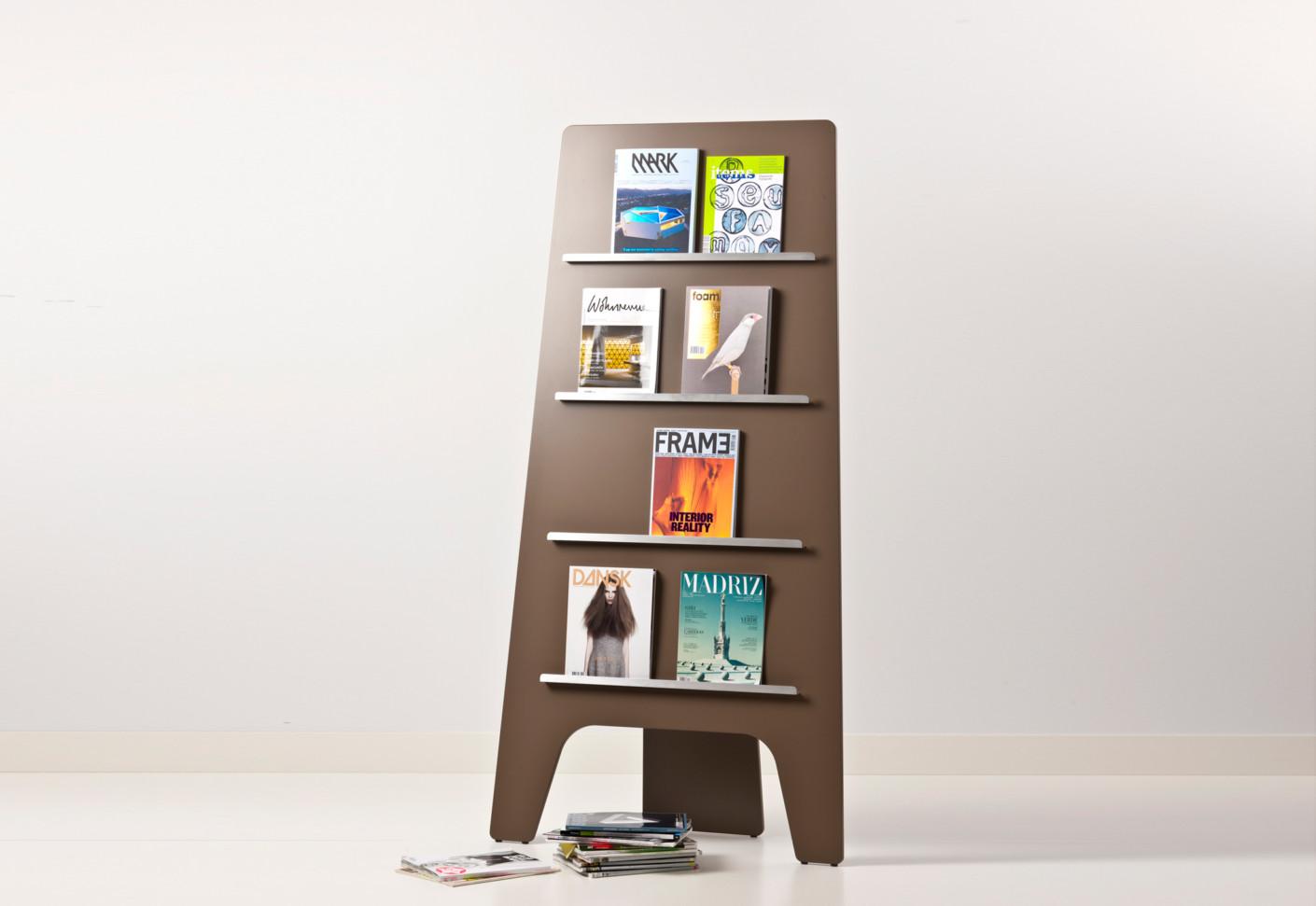 leaf zeitschriftenregal von cascando stylepark. Black Bedroom Furniture Sets. Home Design Ideas