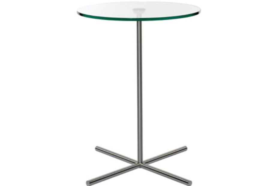 XL Tisch mit X-Fuß rund