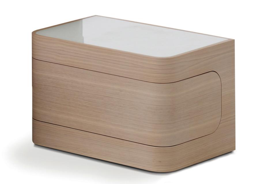 Loop bedside cabinet