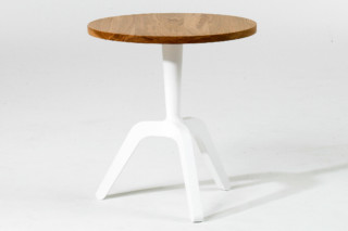 Three L side table  by  Case