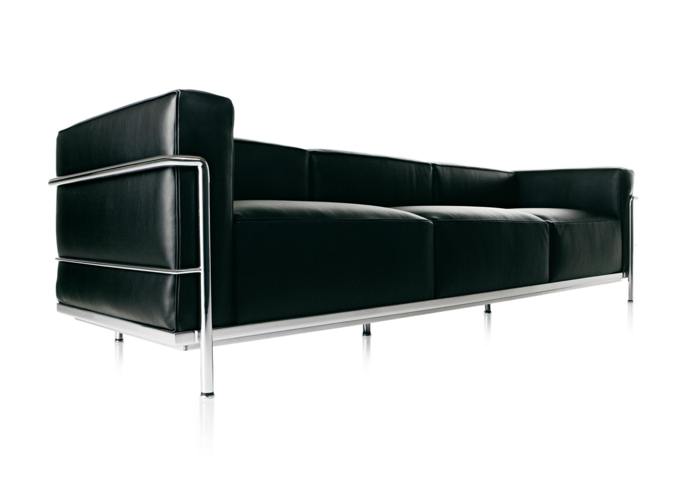 lc3 3 seater sofa by cassina stylepark. Black Bedroom Furniture Sets. Home Design Ideas