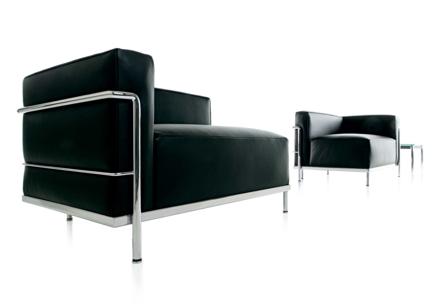 Lc3 m ridienne by cassina stylepark - Meridienne le corbusier ...
