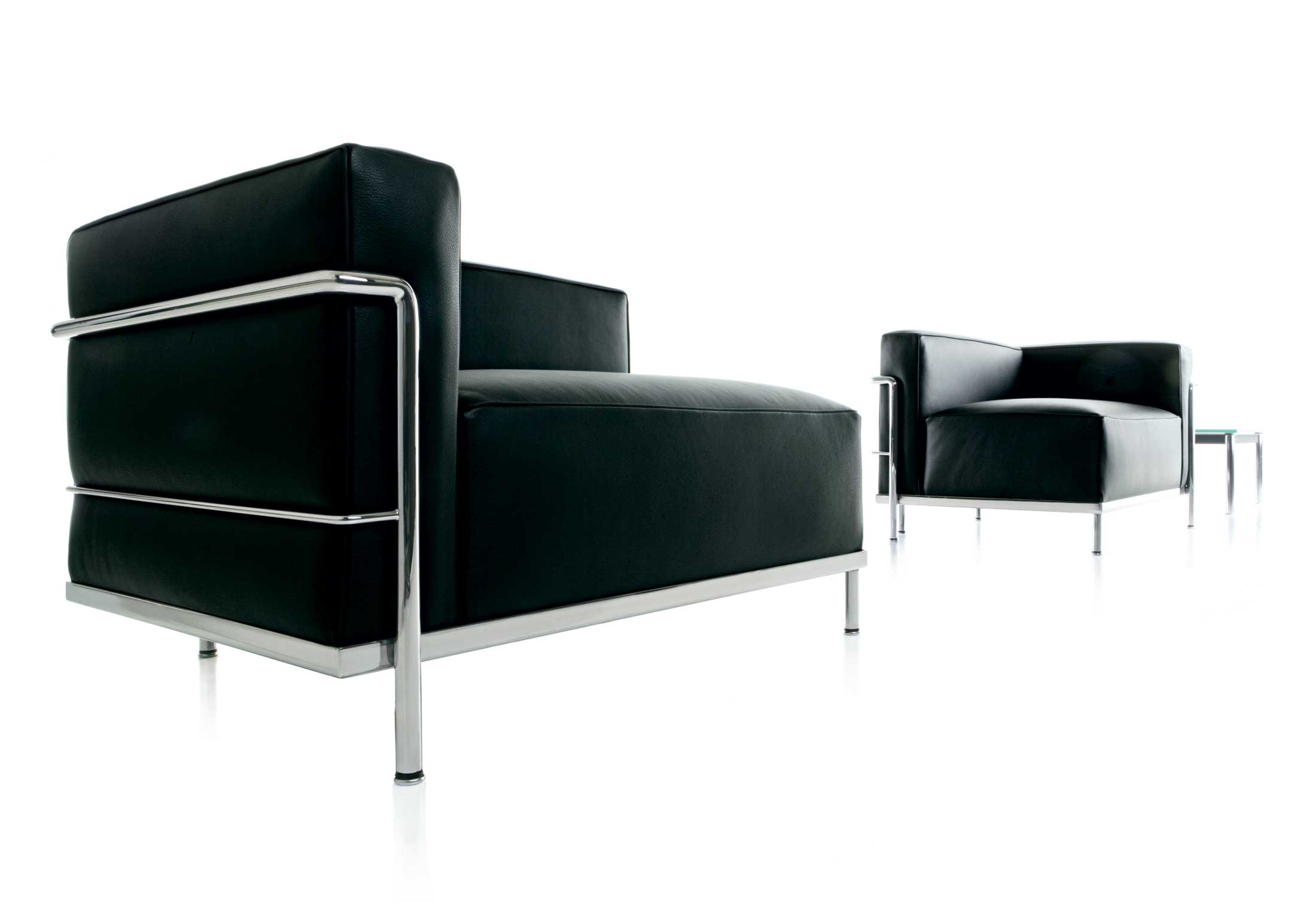 lc3 m ridienne by cassina stylepark. Black Bedroom Furniture Sets. Home Design Ideas
