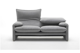 Maralunga '40 version  2-seater sofa  by  Cassina