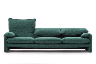 Maralunga '40 version  3-seater sofa  by  Cassina