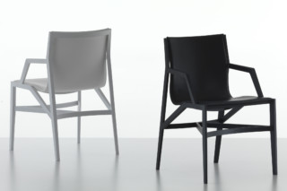 Pilotta Chair with armrests  by  Cassina