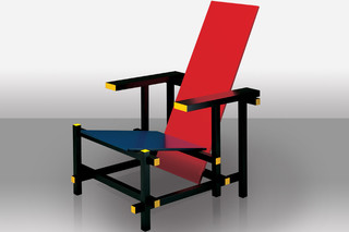 Red and Blue  von  Cassina