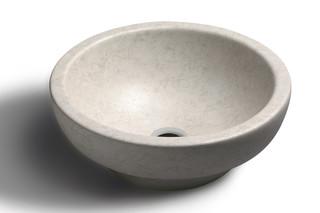 I Maestri travertino Cx45 washbasin  by  Catalano