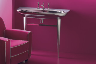 Muse 100 argento wash basin  by  Catalano