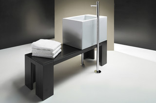 Verso 65 su banca wash basin  by  Catalano
