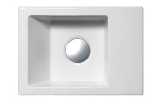 Versoventicinque 35 wash basin  by  Catalano