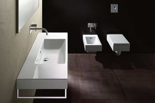 Zero Domino 125 wash basin  by  Catalano