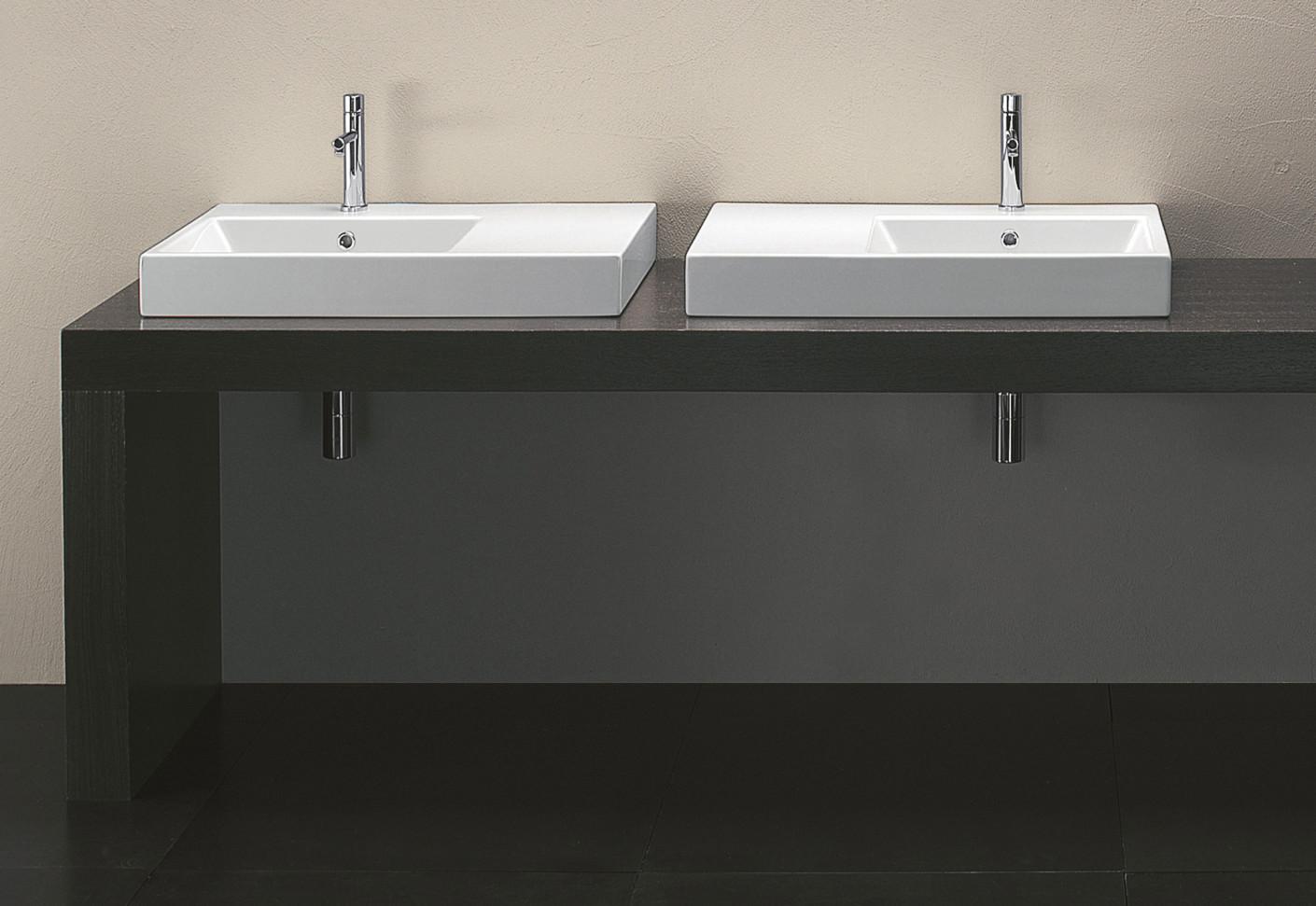 zero domino 75dx waschtisch von catalano stylepark. Black Bedroom Furniture Sets. Home Design Ideas