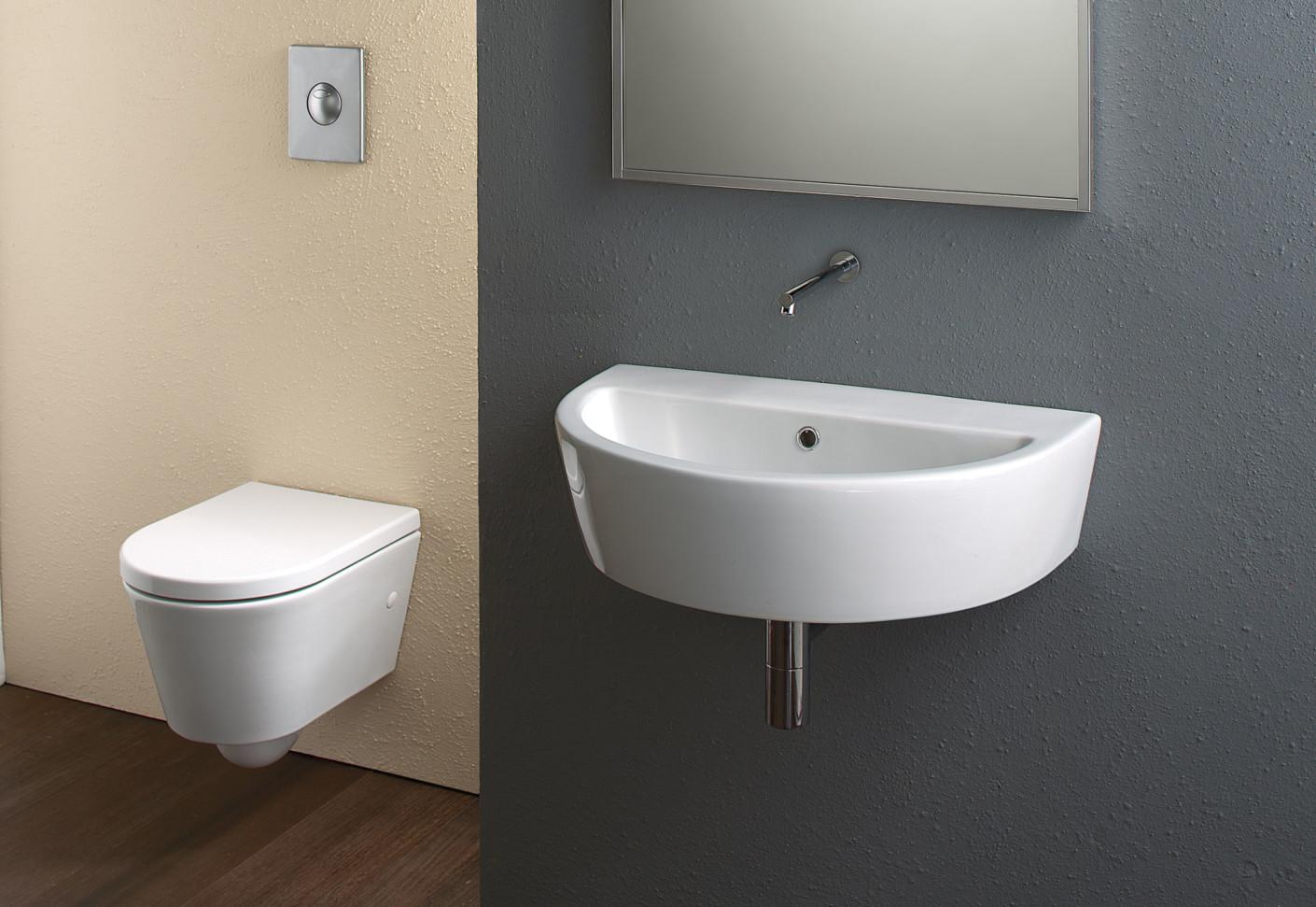zero wc 45 wall hung von catalano stylepark. Black Bedroom Furniture Sets. Home Design Ideas