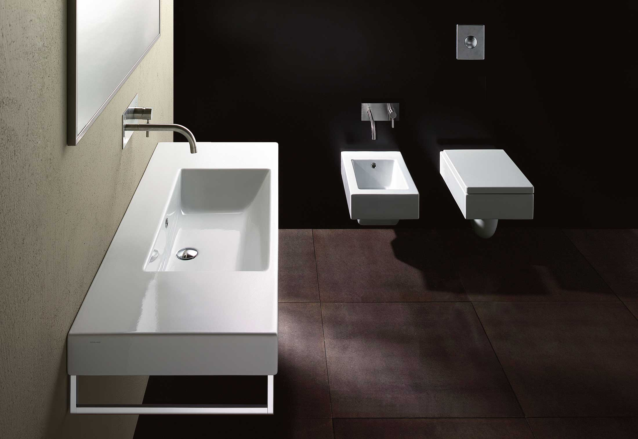 zero wc 53 wall hung von catalano stylepark. Black Bedroom Furniture Sets. Home Design Ideas