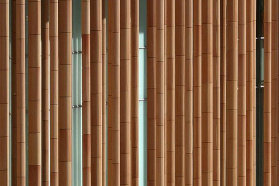 Fassadenbekleidung, Spanischer Expo-Pavillon in Zaragoza, Spanien
