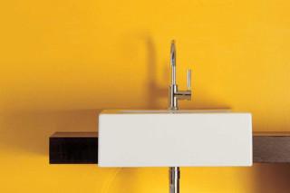 Acquagrande 60 basin semi-inset  by  Ceramica Flaminia
