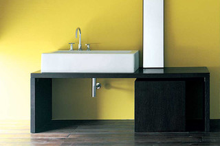Bench 150 Acquagrande basin  by  Ceramica Flaminia